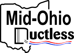 Mid-Ohio Ductless Logo